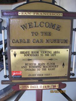 Cable Car Museum, San Francisco